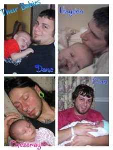 Dane Cian Chezzy Hayden and Daddys