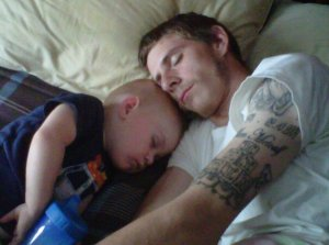 Hayden and Daddy