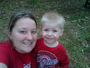 Hayden and Mommy