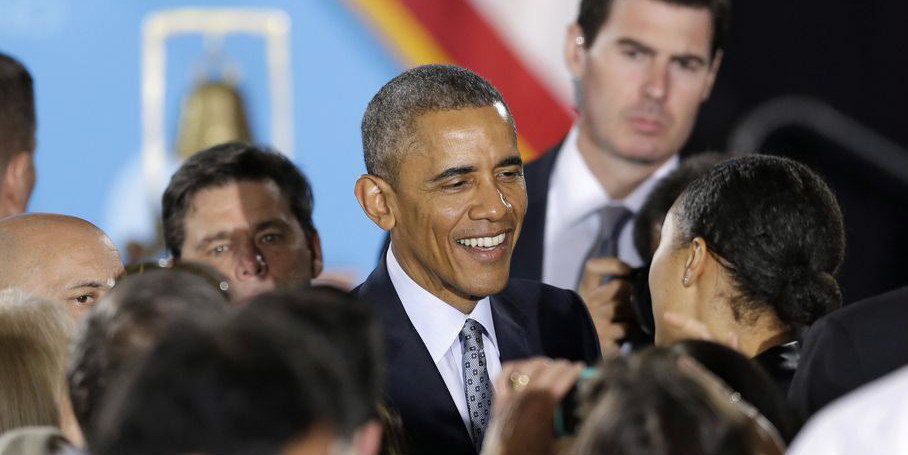 "Mandatory voting? Obama says it would be ""transformative"""