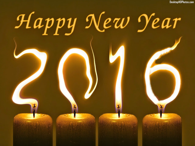 Happy-New-Year-2016-Burning-Candles