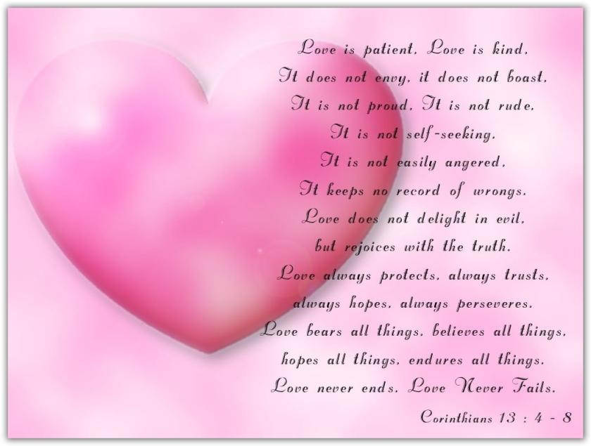 valentine-day-cards Corinthians verses